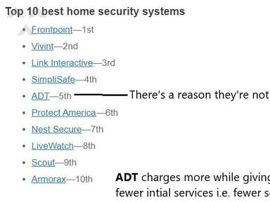 ADT - Does becoming BIG equal apathy toward customers?