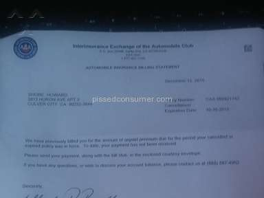 American Automobile Association - Automobile Club Of Southern California is a Fraud!     Do Not Do Business With Them!