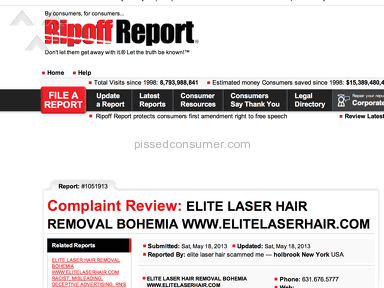 Elite Laser Hair Beauty Centers and Spas review 15623
