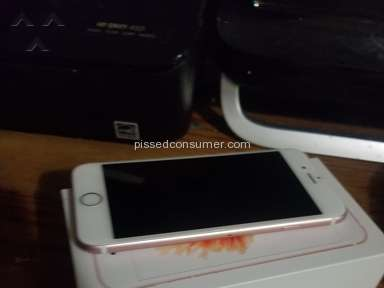 Letgo - Rose gold iPhone 6s with box
