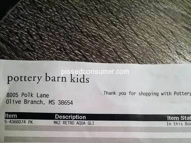 Pottery Barn Kids - They completely ignored me.