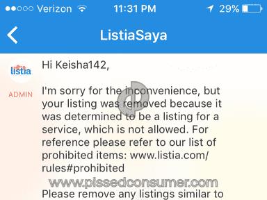 Listia Website review 131289