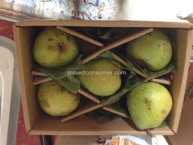 Harry And David - $9.99 box of Royal Riviera Pears