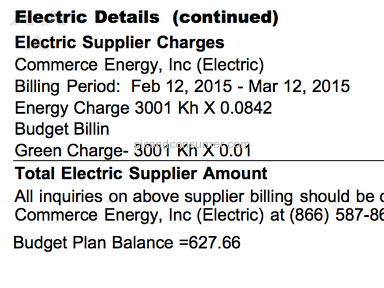 Commerce Energy Utility review 89525