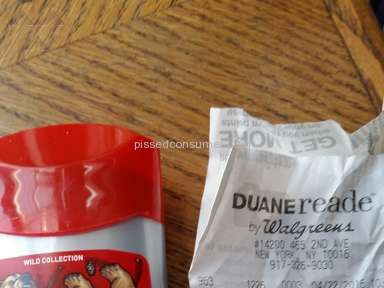 Duane Reade - Old Spice Bearglove Deodorant Review from New York, New York