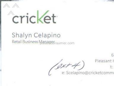 Cricket Wireless - CRICKET's INBRED IGNORANCE!!!