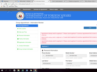 Dfa Passport Appointment System - APPOINTMENT CODE