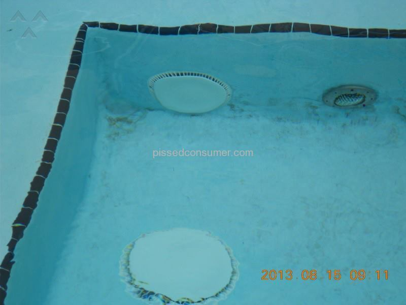 Swimming Pool Water Contamination : Residence inn dirty contaminated swimming pool that made