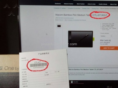 Lazada Malaysia - Wrong item delivered...Twice!