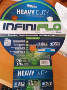Ray Padula Infiniflo Platinum Garden Hose