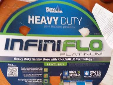 Ray Padula -  Defective InfiniFlo Platinum Hose