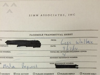 Simm Associates - Suspected Scam
