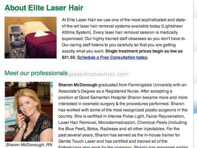 Elite Laser Hair Beauty Salons and Spas review 18387
