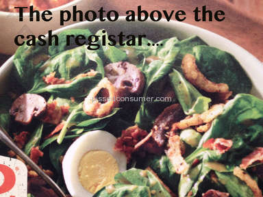 Panera Bread Salad review 34557