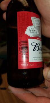 Anheuser Busch Budweiser Beer