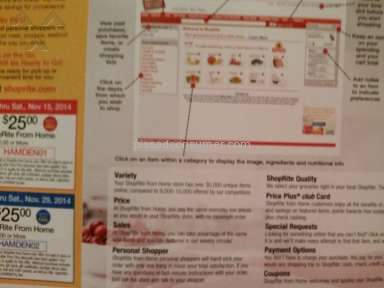 Shoprite - Delivery Service Review from Bethany, Connecticut