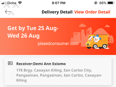 Lazada Philippines Shipping Service review 734073
