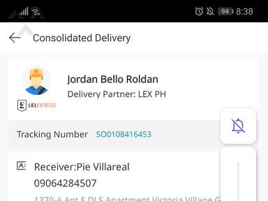 Lazada Philippines Lazada Express Philippines Courier Delivery Service review 672547