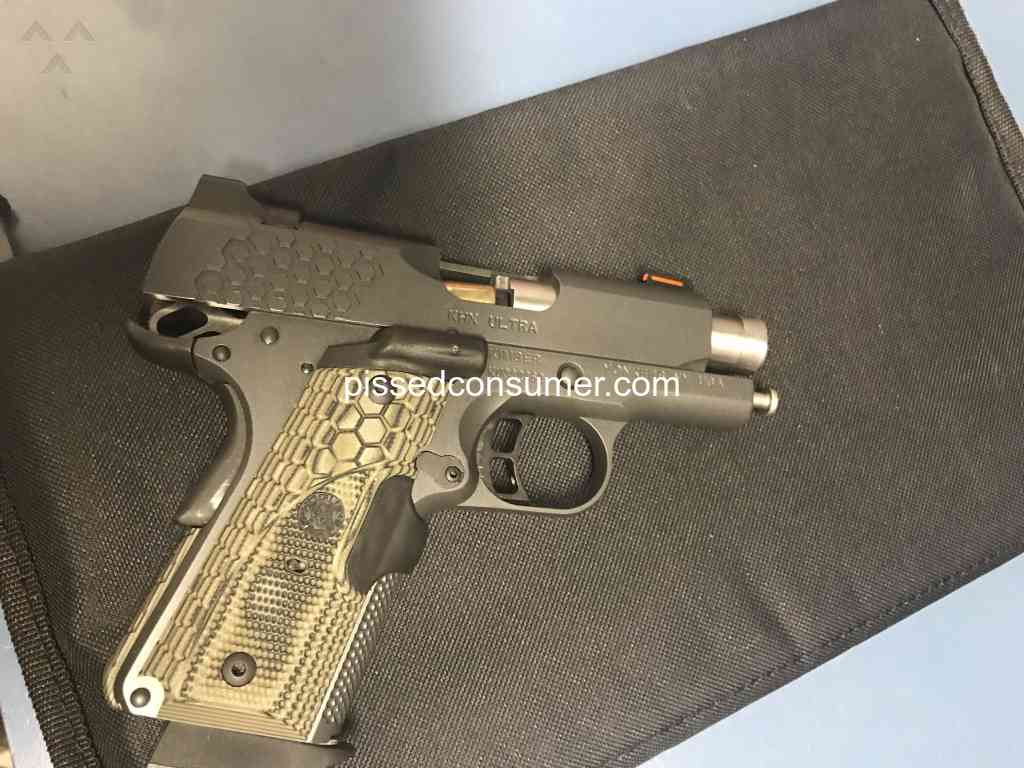 32 Kimber Manufacturing Reviews And Complaints Pissed Consumer 1911 Parts Diagram Search Troubles With New Khx Ultra 9mm