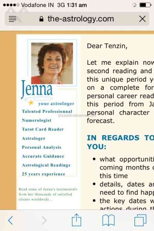 jenna the astrologer pictures