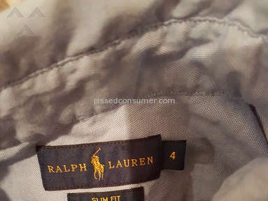 Ralph Lauren Customer Care review 243806