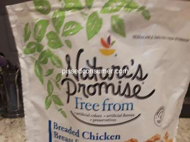 Natures Promise - Nature's Promise Breaded Chicken Breast Strips