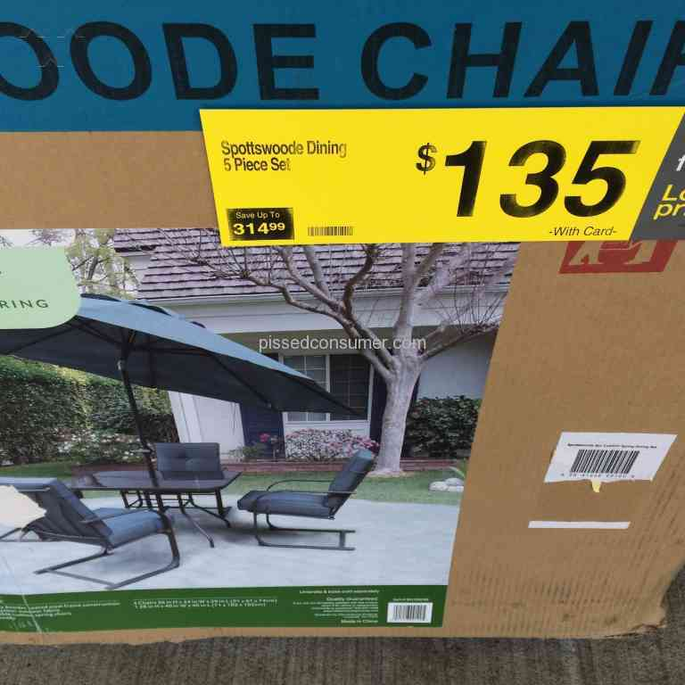 Kroger Outdoor Furniture Review 152054