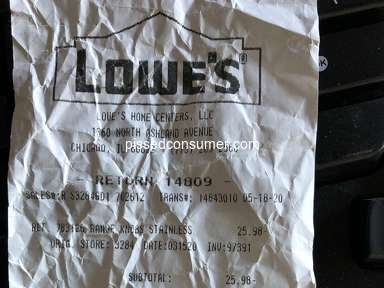Lowes Supermarkets and Malls review 620333