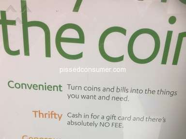 Coinstar Gift Card Vending Machine review 317482