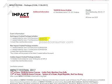 Ticketmaster Impact Festival Event Ticket review 215456