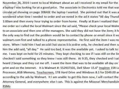 Walmart Supermarkets and Malls review 53901