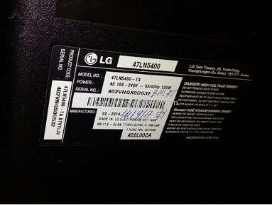 Lg Electronics - LG's TV and replacement parts very poor