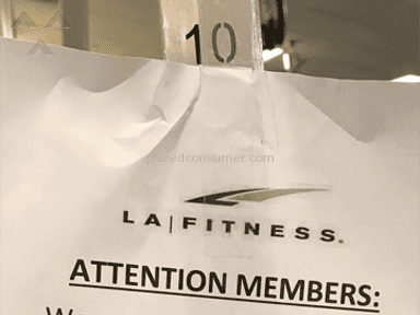 La Fitness - Frustrated