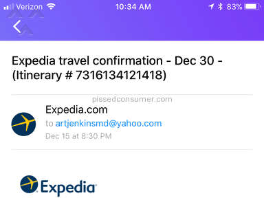 Expedia - Customer Dis-Service