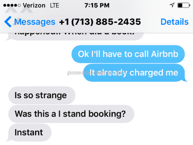 Airbnb Customer Care review 129075
