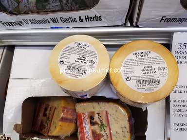 Costco - Past due food - cheese