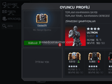 Kabam - Account Review