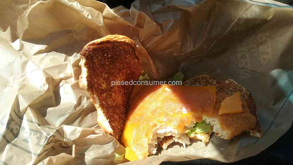 6 arbys crispy fish sandwich reviews and complaints for Good fish sandwich near me