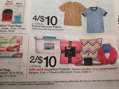 Miss advertising of product to be on sale at Walgreens