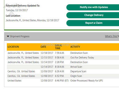 UPS - TERRIBLE service and support