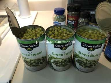 Clover Valley - Canned peas cut green beans
