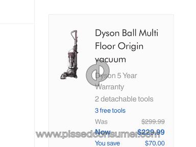 Dyson.com USA sucks
