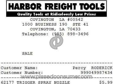 Resolved: Harbor Freight Tools - Misleading ad Jul 22, 2019