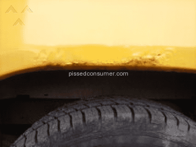 Paint bubbling on 2006 dodge dakota