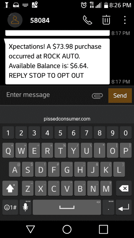 Rock Auto Phone Number >> 3656 Rockauto Reviews And Complaints Page 56 Pissed Consumer