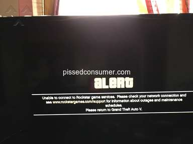 Rockstar Games - Rockstar servers not connecting in game