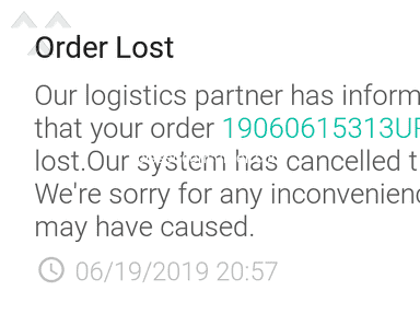 Ninja Van - They fail to deliver my 2 orders with in this week!