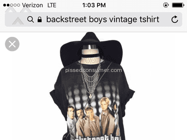 Poshmark T-shirt review 184924