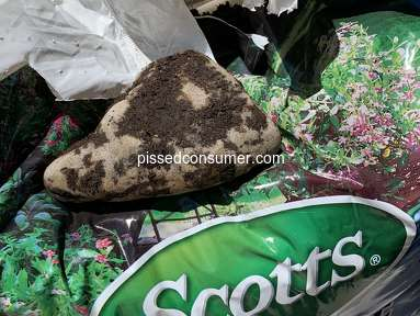 Scotts - Additional product in potting soil bag
