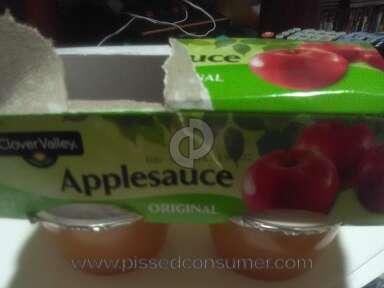 Clover Valley Applesauce Fruit Puree review 381630